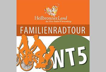 Routenplakette WT5 - Familienradtour Weinsberger Tal