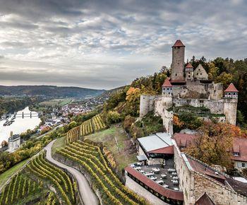 Burg Hornberg am Neckartal-Radweg