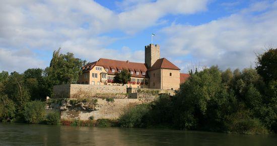 Rathausburg in Lauffen mit Burgmuseum