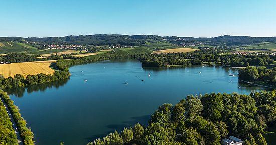 Breitenauer See – drittgrößter See in Baden-Württemberg