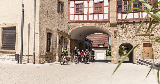 Radfahren in Neuenstadt am Kocher