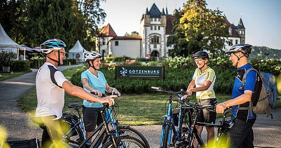 Kultur-Radwege Baden-Württemberg - Unterwegs am Burgenstraßen-Radweg
