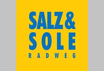 Routenplakette N2 - Salz und Sole Radweg