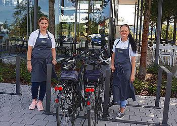 HL_Offenau_Bäckereicafé Härdtner_RadServiceStation