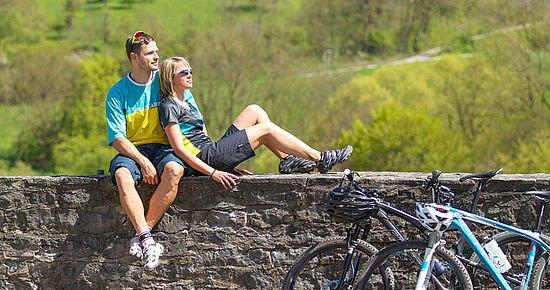 Auf der Vellberger Bastion (Foto: Michael Schultz)