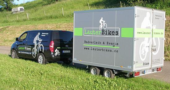 Bike-Shuttle& Rückholservice