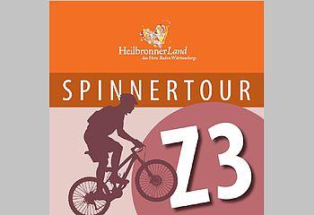 Routenplakette Z3 SpinnerTour
