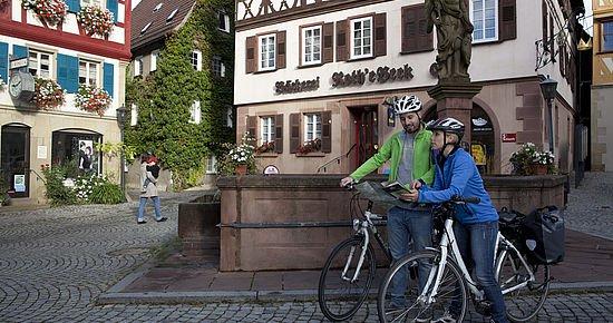 Kultur-Radwege Baden-Württemberg - Unterwegs am Radweg Deutsche Fachwerkstraße