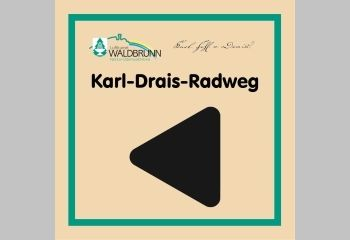 Logo Karl-Drais-Radweg