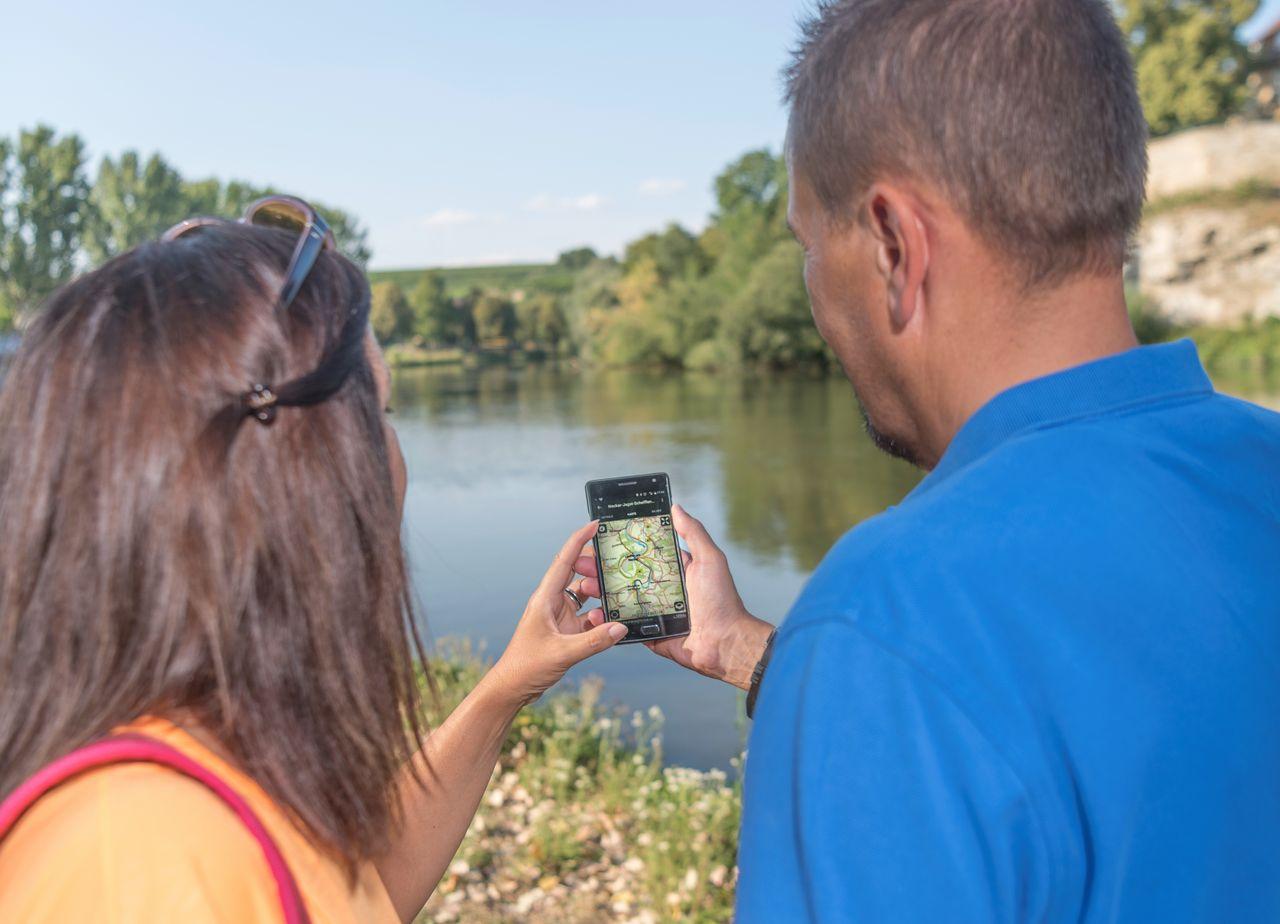 Mobile Navigation – Touren-App