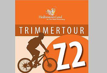 Routenplakette Z2 TrimmerTour