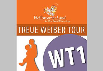 Routenplakette WT1 - Treue Weiber Tour
