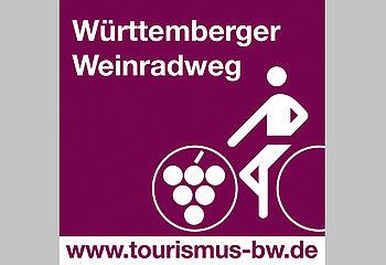 Routenplakette - Württemberger Weinradweg