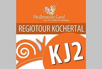 Routenplakette KJ2 - Regiotour Kochertal