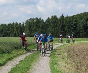 Geführte MTB-Tour durch die Löwensteiner Berge