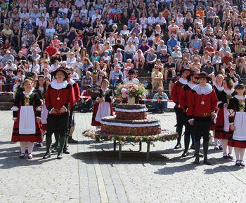 Kuchen- und Brunnenfest in Schwäbisch Hall