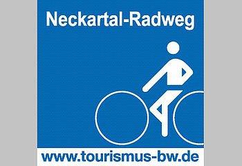 Routenplakette - Neckartal-Radweg