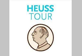 Routenplakette Heuss-Tour