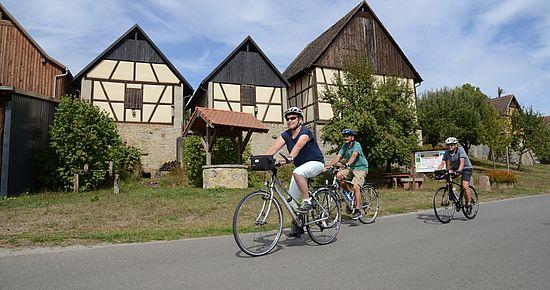 Radtour zu den Grünkerndarren nach Walldürn-Altheim
