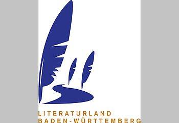 Routenplakette - Literaturland Baden-Württemberg