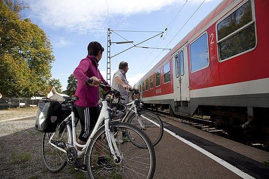 Entspannte Radreisen - Anreise mit der Bahn