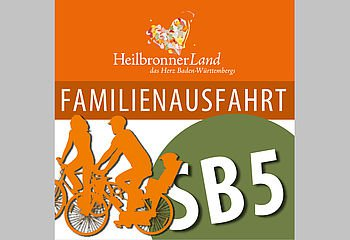 Routenplakette SB5 - Familienausfahrt Schozachtal