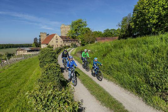 Radtouren mit Kindern - Ausflugstipps für Familien