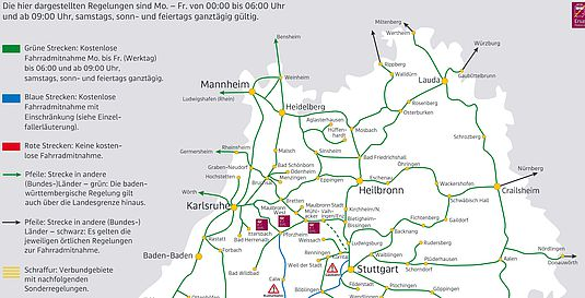 Bahn & Bike Baden-Württemberg - Fahrradmitnahme im Nahverkehr