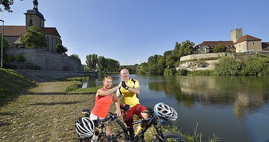 Test Alternativer Text Flussradwege Baden-Württemberg - Radfahren am Wasser