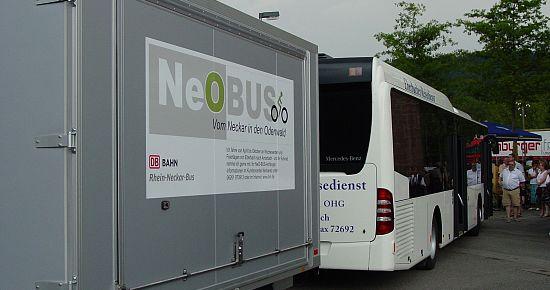 NeO-Bus - die Busverbindung zwischen Main und Neckar