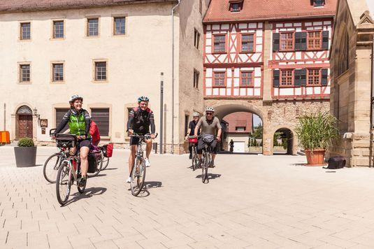 Kultur-Radwege in Baden-Württemberg - Unterwegs am Radweg Deutsche Fachwerkstraße