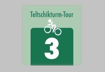 Logo Teltschikturm-Tour