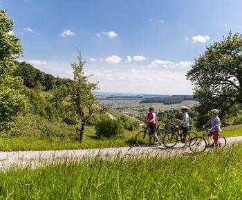 Naturparkouren Baden-Württemberg - Radfahren in ländlichem Idyll