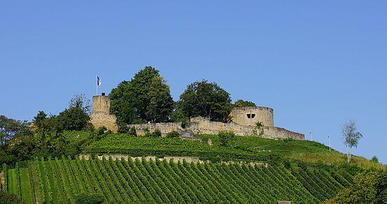 Burgruine Weibertreu in Weinsberg