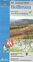 Freizeitkarte Stromberg-Heuchelberg mit Rad- und Wanderwegen