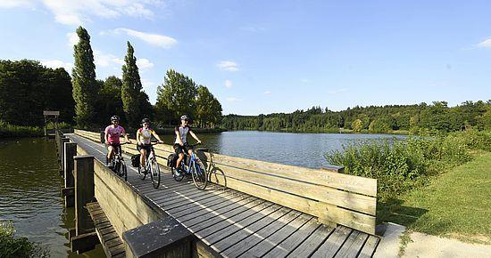 Unterwegs am Kocher-Jagst-Radweg | Flussradwege Baden-Württemberg