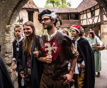 Burgfest auf Burg Guttenberg